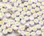 miniatuur 21 - 200 Alphabet Letter Mixed Colour Beads Gems Kids Girls DIY Jewellery Xmas Gift