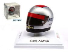 """Truescale TSM12AC05 Mario Andretti """"LOTUS"""" BELL CASCO REPLICA 1977-scala 1/8"""