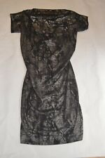 Vivienne Westwood NEW Black Womens Size XL Arro Striped Sheath Dress $620 244