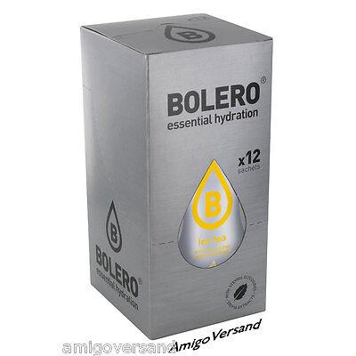 Bolero Drinks ICE TEA Lemon (Eistee Zitrone) - 12 Beutel für 18-36 Liter