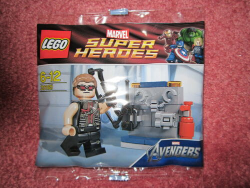 Lego Marvel Super Heroes Avengers Super Heroes Hawkeye 30165-Nouveau//Scellé