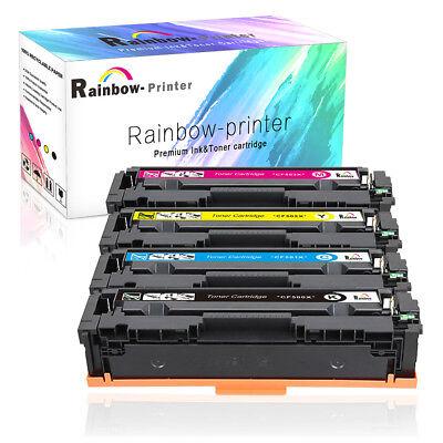4pcs Black Color Toner For HP CF500A 202A LaserJet Pro MFP M280nw M281dn M281fdw
