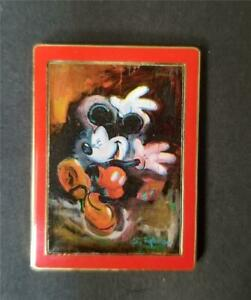 Disney Travel Company UK Eric Robison Mickey Impressionist Dancing in Rain Pin