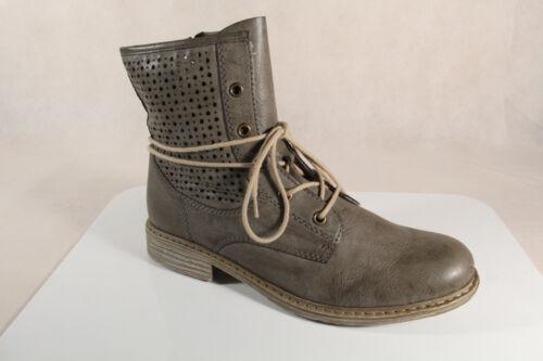 Rieker z2125 Bottes Femmes Bottine Boots siefeletten Gris NOUVEAU!