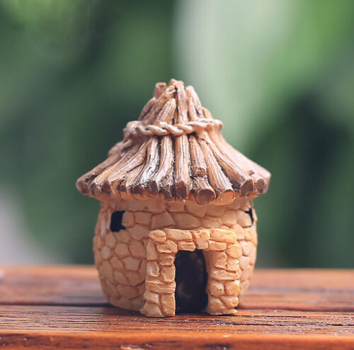 DIY Mini Miniature Fairy Garden Ornament Decor Pot Craft Dollhouse Accessories