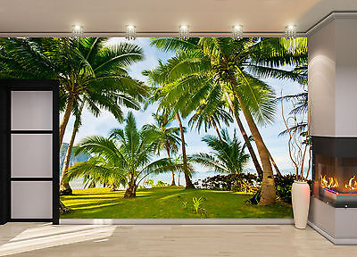 Exotic Palms Wall Mural Photo Wallpaper GIANT DECOR Paper Poster Free Paste