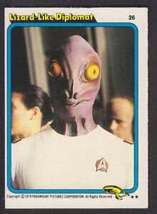 Topps-Star-Trek-The-Motion-Picture-1980-26-Lizard-Like-Diplomat