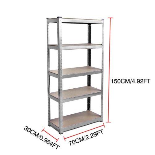 Heavy Duty Industrial Storage Shelving Unit Shelves Metal Racking Boltless Shelf