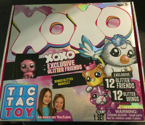 Tic Tac Toy XOXO Exclusive Glitter Friends new