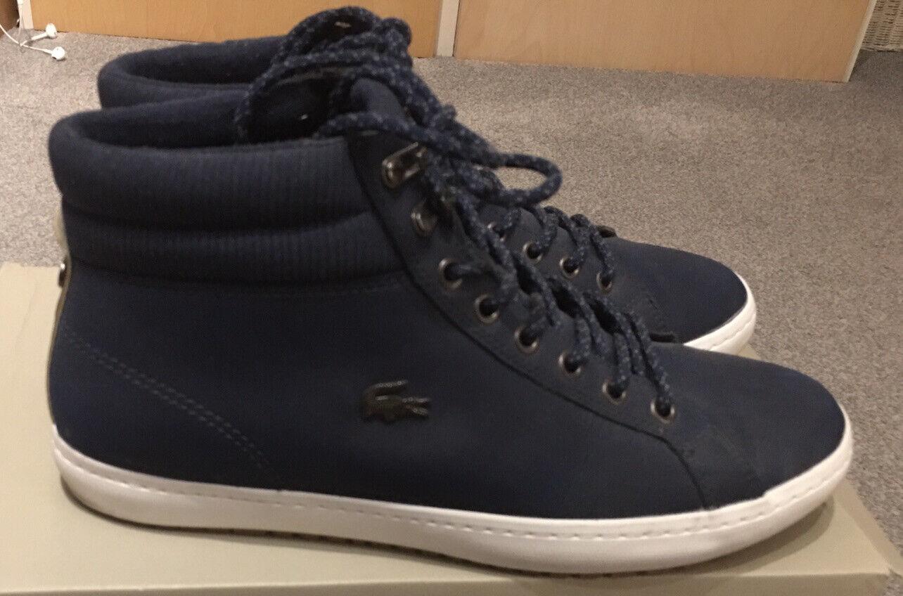 Lacoste Straightset Insulate C318 1 Chukka Boots Navy