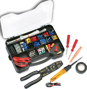atd 285pc automotive electrical repair kit tools terminals. Black Bedroom Furniture Sets. Home Design Ideas