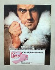 D599 - Advertising Pubblicità - 1975 - SCOTTEX CARTA IGIENICA
