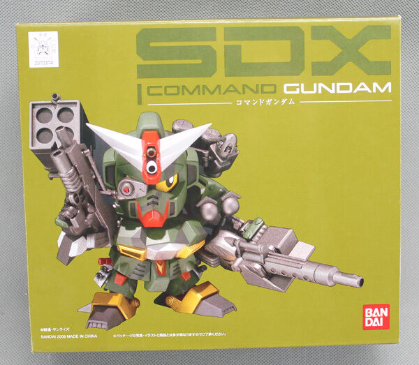 Bandai SDX Command Gundam Action Figure