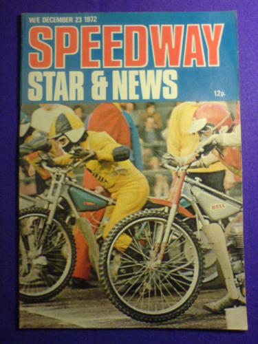 11 Nov 1972 SPEEDWAY STAR AND NEWS