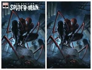 SUPERIOR-SPIDER-MAN-1-CLAYTON-CRAIN-VIRGIN-amp-TRADE-VARIANT-SET-LIMITED-TO-750