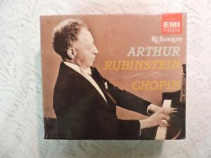 Details about Arthur Rubinstein: Chopin 5 CD Set SEALED EMI Classics
