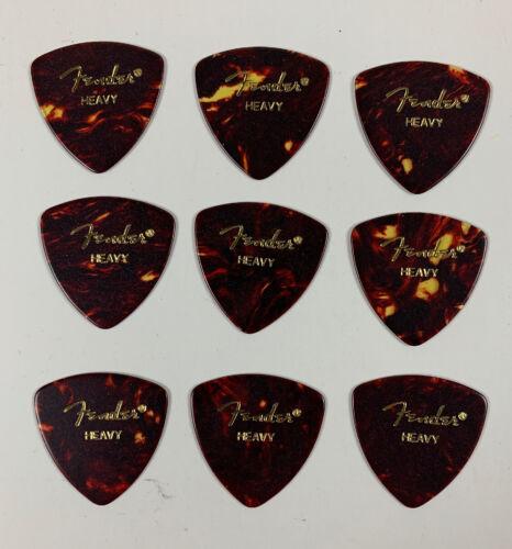 Pack Of 9 Fender #346 Shell Uñas//Pajuelas Para Tocar Guitarra//Cuatro Picks