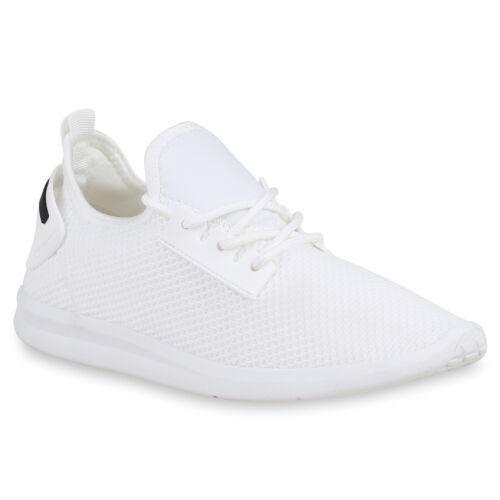 Damen Sportschuhe Strick Laufschuhe Turnschuhe Sneaker Schnürer 821433 Schuhe