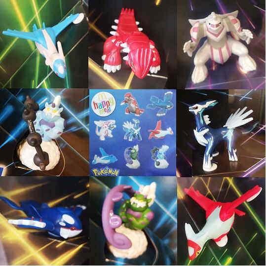 McDonalds Happy Meal Toy 2019 Pokemon + Card COMPLETE Full Set of 8 Toys + Cards