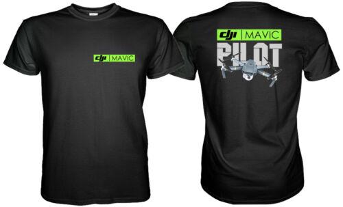 Dji Mavic Pro Pilot Logo T-Shirt Size S M L XL 2XL 3XL