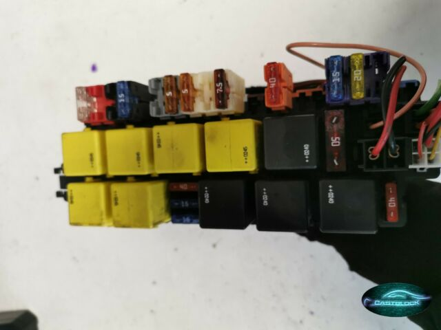 MERCEDES-BENZ W220 S430 S500 SAM SIGNAL MODULE FUSE RELAY A0325458332