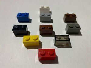 LEGO 3004 1x2 Brick Old Light Grey 5x
