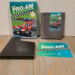 R.C. Pro-Am (Nintendo Entertainment System, 1988) Complete CIB - NES