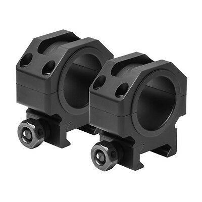 """NcStar VR30T09 Tactical Series 30mm Scope Rings 0.9/"""" Optic Centerline Height"""
