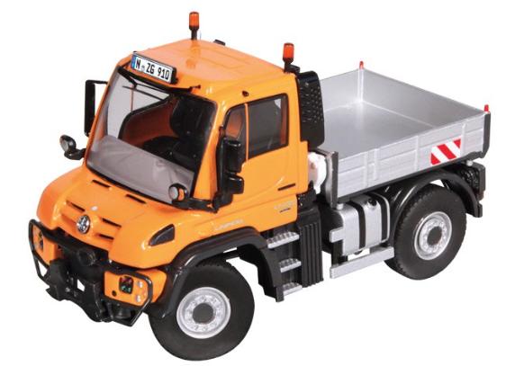 NZG 150 escala MB Unimog U 400 Naranja 910/65