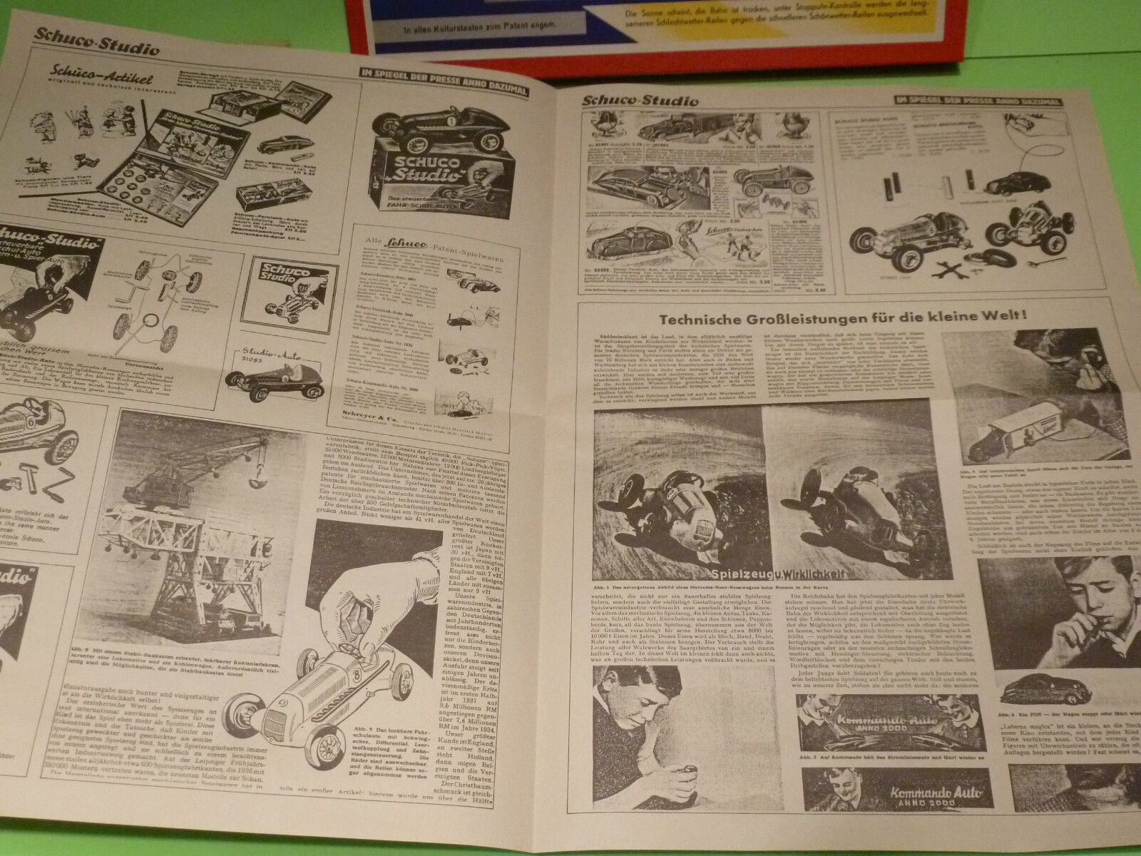 SCHUCO 1055 REPLICA ORIGINAL STUDIO BAUKASTENS VON 1936 - - - RARE SELTEN - MIB 8edeed
