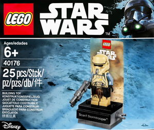 LEGO STAR STAR STAR WARS  40176 - Scarif Stormtrooper + Display Stand Minifigure - NEW ade1f3