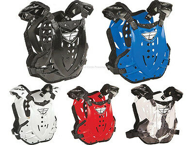 Fly Racing Revel Adult Chest Roost Guard Protector Deflector Motocross MX//ATV