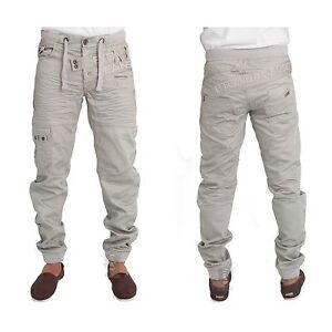 ETO-EM474-Men-039-s-Cuffed-Jogger-Regular-Fit-Designer-Jeans-Casual-Denim-Pants