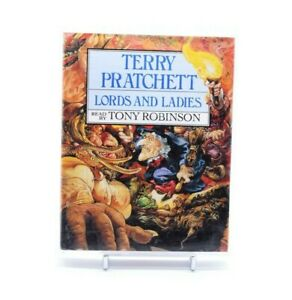 TERRY-PRATCHET-LORDS-AND-LADIES-TONY-ROBINSON-Cassette-Audio-Book-Set-Complete