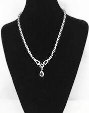 NYJEWEL 14k Solid Gold Brand New 15ct Sapphire Diamond Necklace $15999