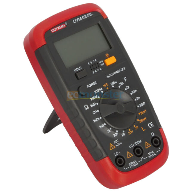 New Mini Resistance Capacitance Inductance Meter Multimeter with LCD Display