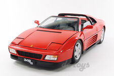 Hot Wheels Elite Ferrari 348 ts 1:18 Diecast Red X5480
