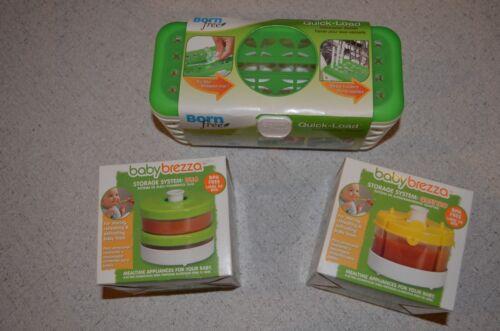 1 Born Free Dishwasher Basket QUATTRO Food Storage System Baby Brezza DUO