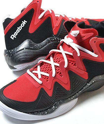 Reebok Uomo Kamikaze IV M40834 Mid Retro Retro Retro Basketball scarpe nero rosso bianca 14M 5c0a5c