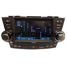 TOYOTA Highlander JBL Navigation GPS Radio LCD Screen MP3 CD DVD Player SAT OEM