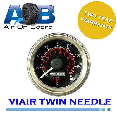 Pressure gauge 003 genuine viair twin air ride suspension control air bag