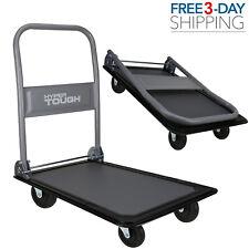 Platform Cart Dolly Foldable Moving Heavy Duty 330lbs Warehouse Push Hand Truck