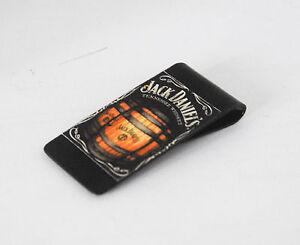 PINCE-A-BILLETS-en-metal-avec-sticker-JACK-DANIEL-039-s-accessoire-homme