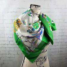 Gucci Scarf Hand Stitched Rolled Hem Dollhouse George Washington Renaissance