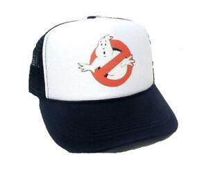 df778f37ced Image is loading Ghostbusters-Movie-Trucker-Hat-mesh-hat-snapback-hat-