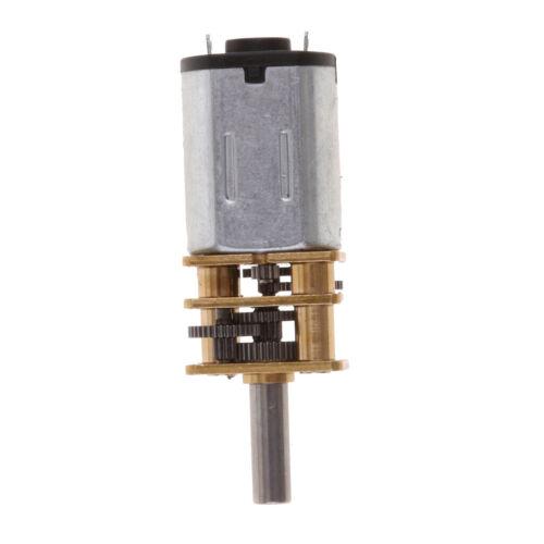 DC 6 V Motor Micro 3 mm Shaft Gear auto couple élevé speed reduction gearbox