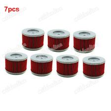 7x Oil Filter For Kawasaki KSR110 KLX140 KLX125 KL250 KL250 Honda TRX700 XR650R