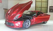 1:24 Scale Red Chrysler Dodge Viper SRT GTS 2013 Maisto Diecast Model Car 31271