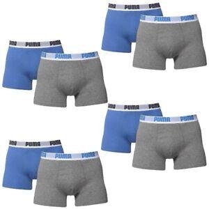 8 Boxer Taille Gris He XL Puma Slip Pack Homme Gris qv6Cwqr