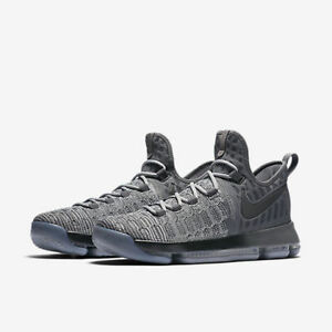 online store 873b1 46bac Image is loading Nike-Zoom-KD-9-IX-Battle-Grey-Size-